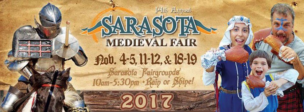 Win 2x2 Tickets to the Medieval Fair 2017