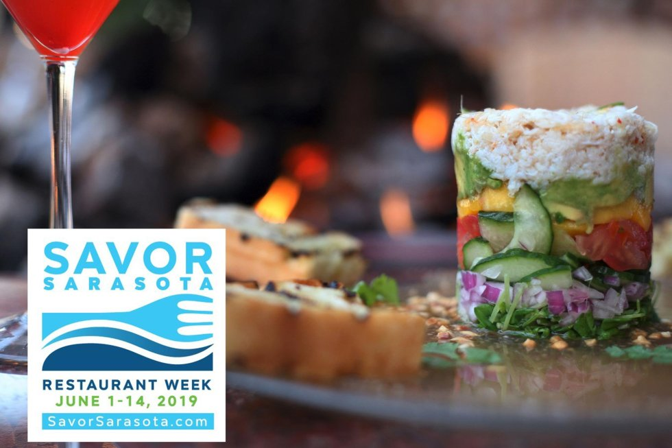 Savor Sarasota - 90 restaurants offer prefixe menus!